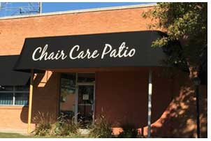 Chair Care Patio in Dallas Texas makes outdoor cushions, pillows and repairs better quality patio furniture