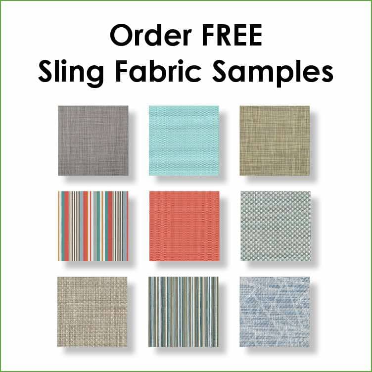 Order free sling fabric samples